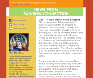 News from Rainbow Connection: July 2016